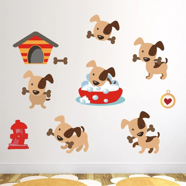 Best Dog Wall Sticker - Design Ideas