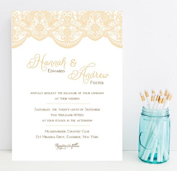 Fast Wedding Invitations