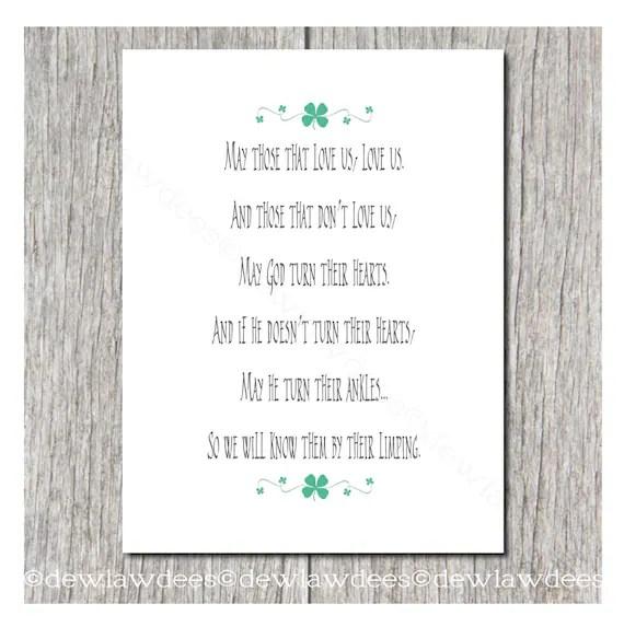 Irish May Love Those Us Quote Us Who Love