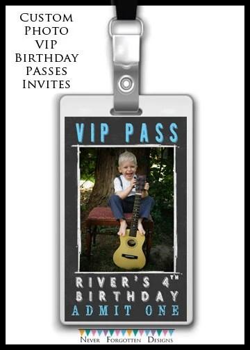 Custom Vip Invitations