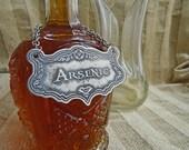 Arsenic Decanter Label, E...