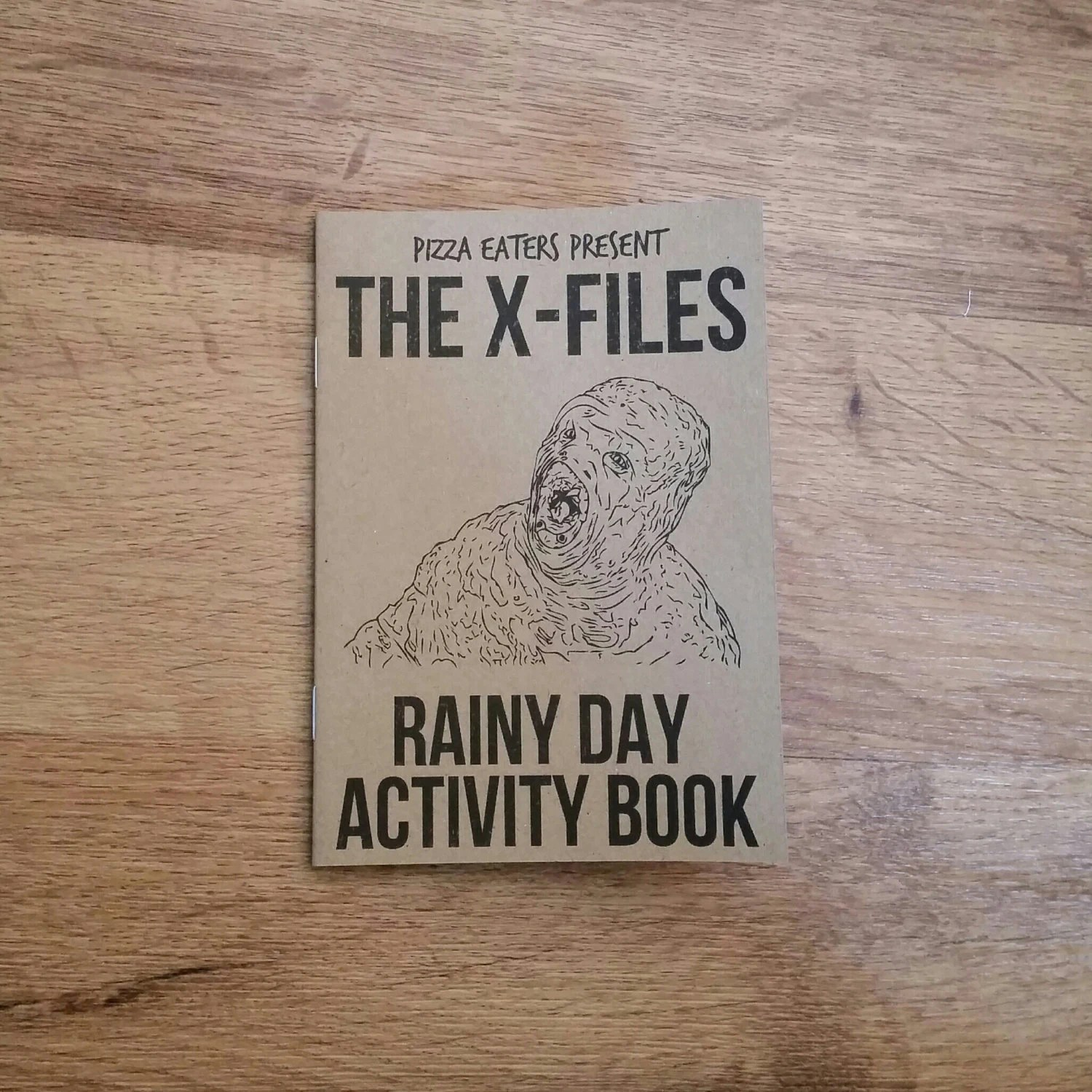 The X Files Rainy Day Colouring Amp Activity Book By Pizzaeaters