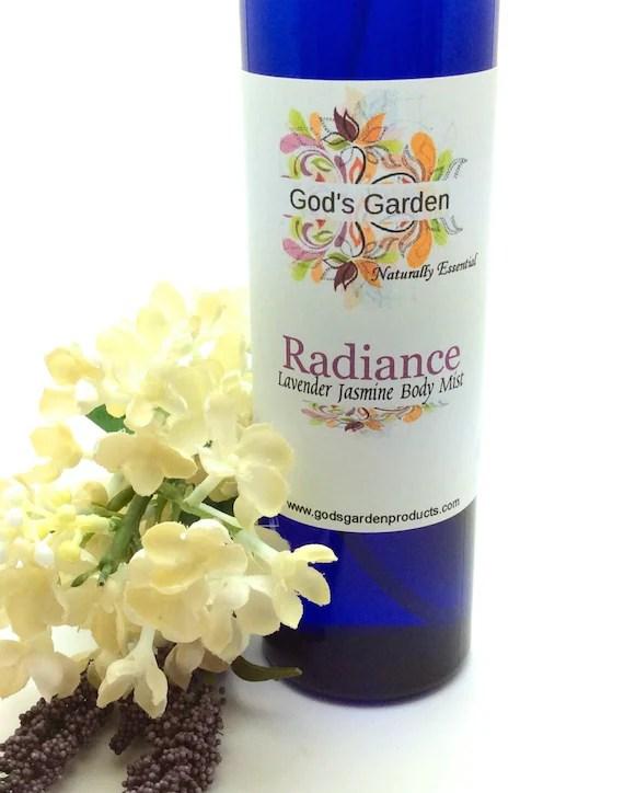 God's Garden Radiance: Lavender Jasmine Body Mist