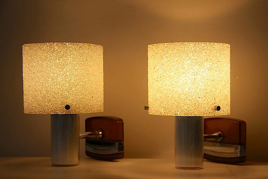 Mid Century Modern Wall Lights Wall Sconces Set Of 2 Wall on Mid Century Modern Sconces id=59686