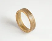 Bent Wood Ring - Oak and ...
