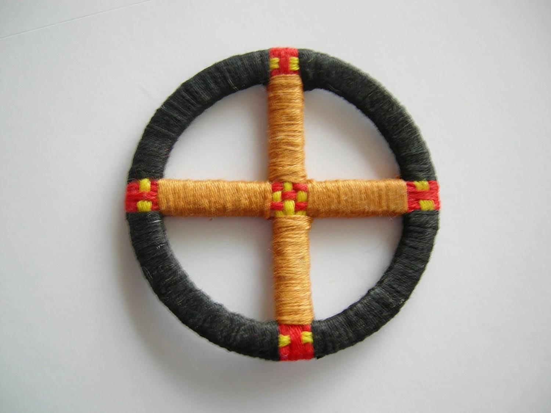 Native American Style Medicine Wheel Mandala 1 By