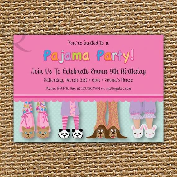 Printable Invitations 4 Page