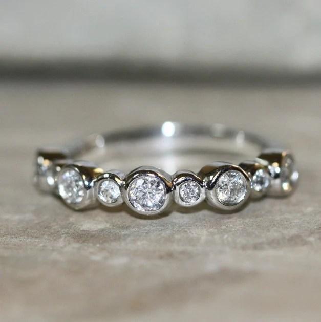 Diamond Wedding Bubbles