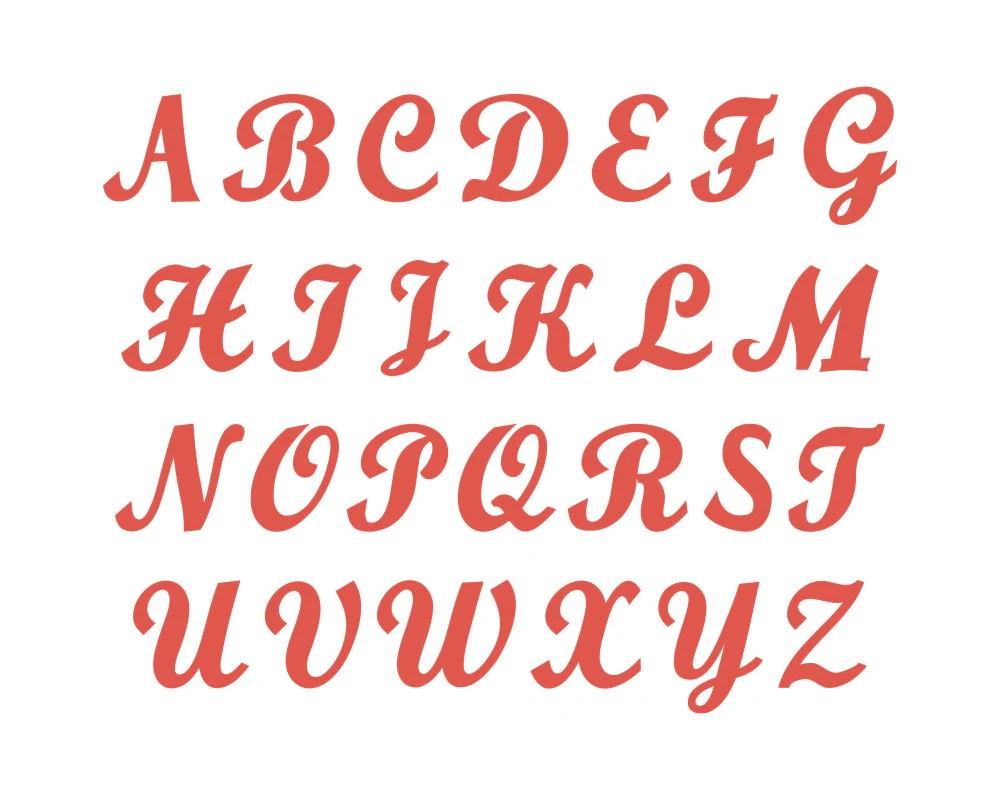 Download Monogram SVG Font Cut File Commercial Use INSTANT DOWNLOAD