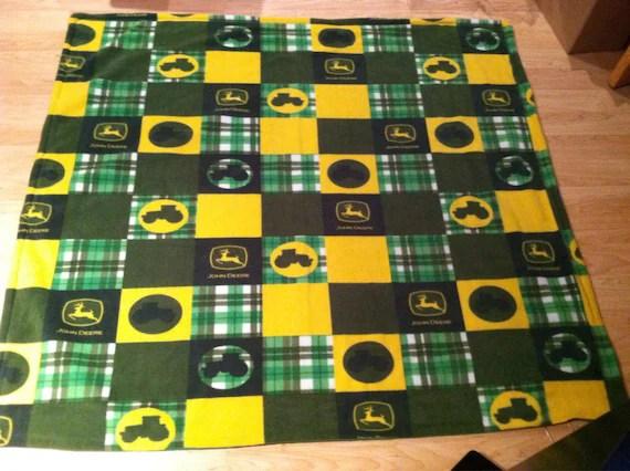 John Deere Fleece Blanket 60x80