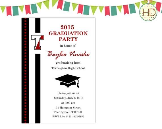Custom Graduation Invitations Walmart