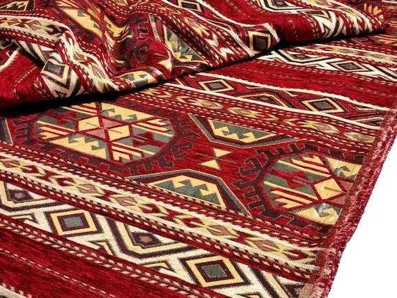 Kilim Upholstery Yard Fabric