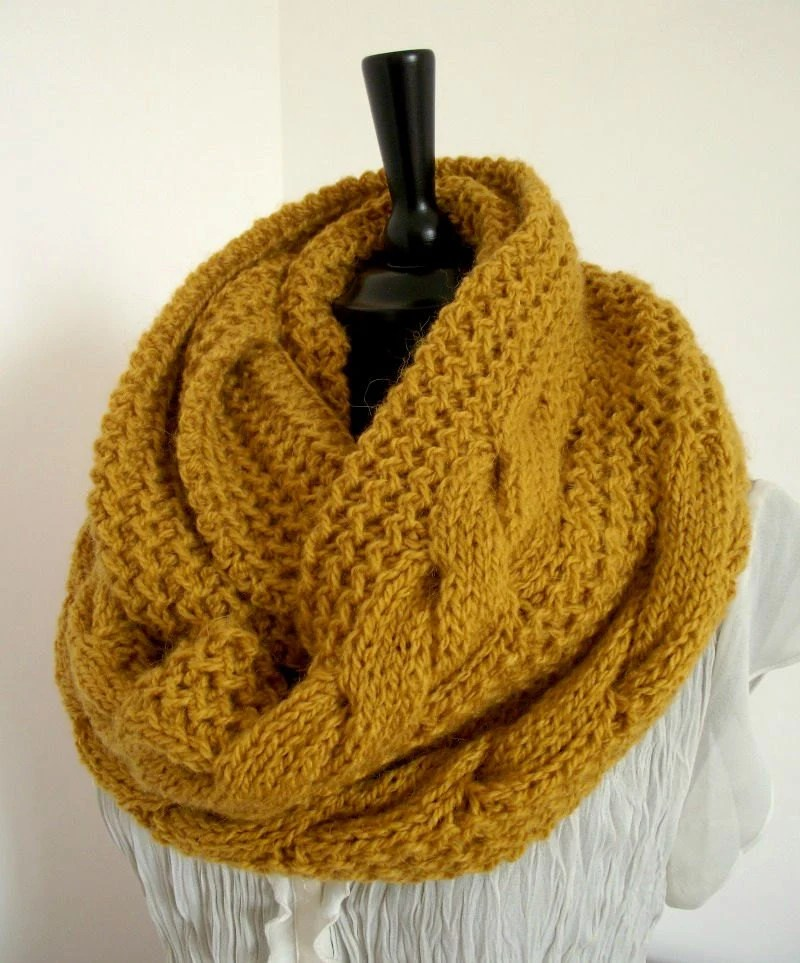 Knitting Scarf Pattern 5mm
