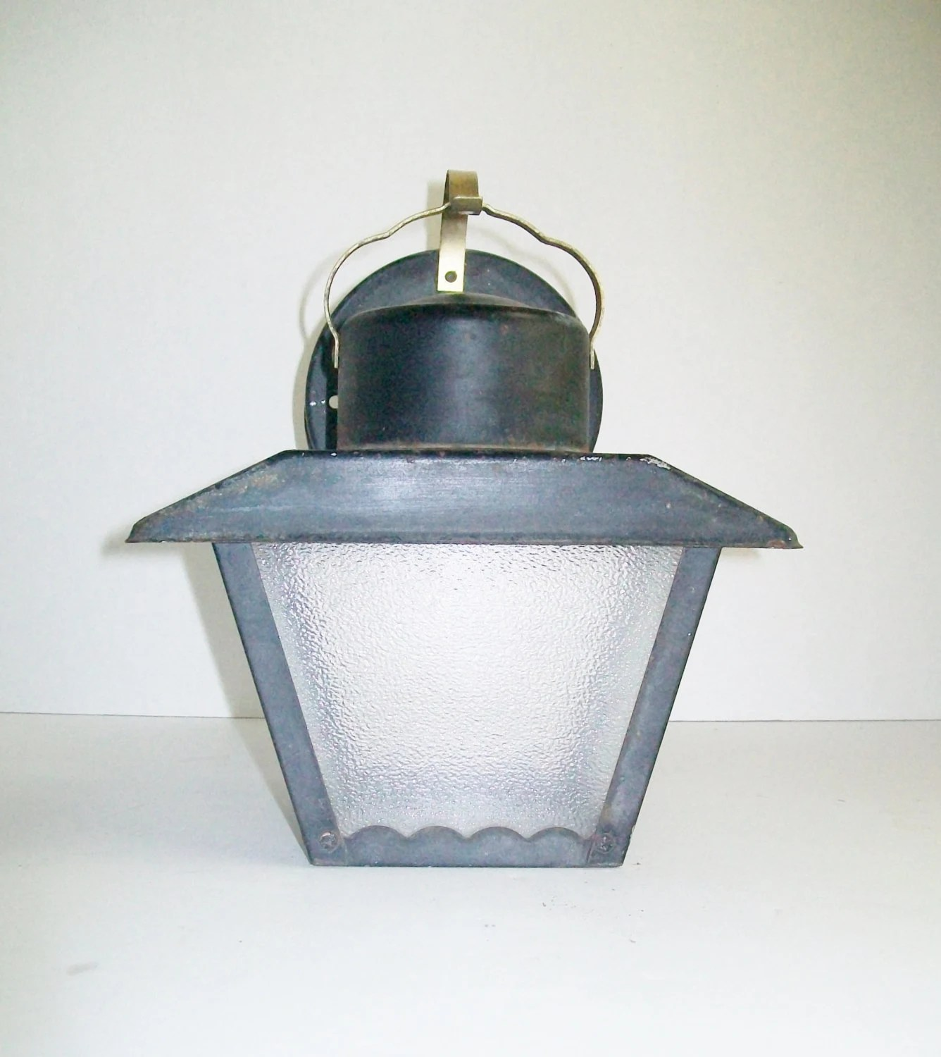 Vintage Metal Brass Wall Sconce Electric Porch House Lantern on Electric Wall Sconces Indoor id=11173
