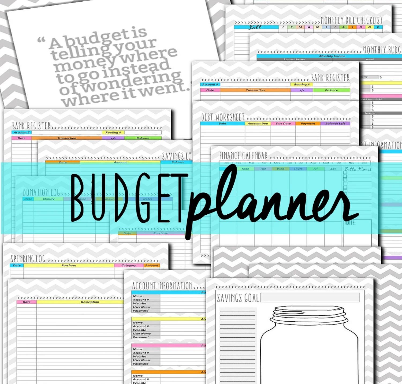 Diy Budget Planner