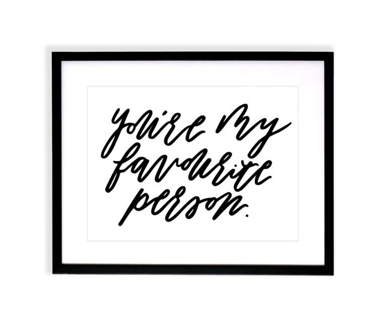 MY FAVOURITE PERSON / Bru...