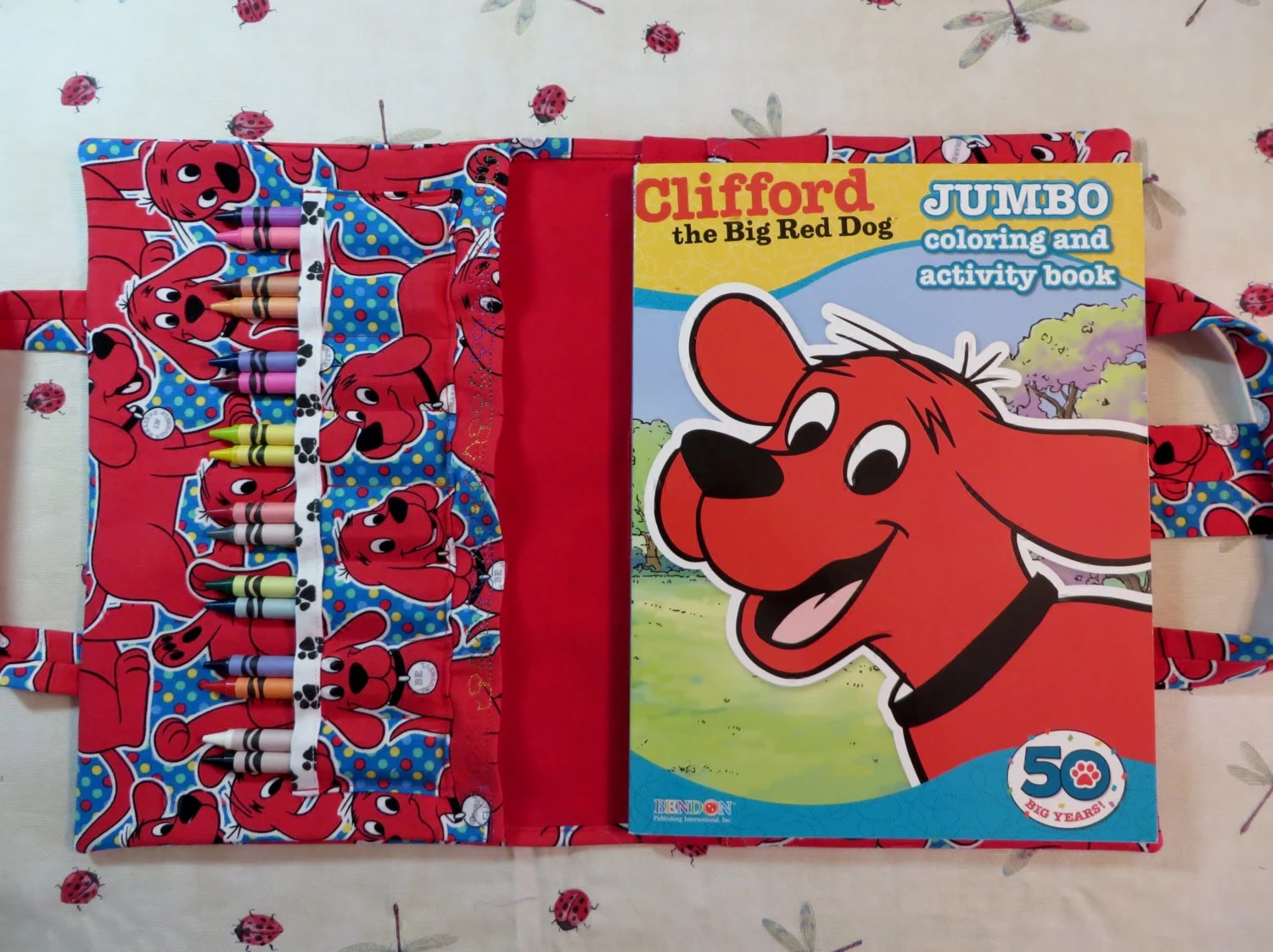 Clifford The Big Red Dog Take Everywhere By Doodlestitches