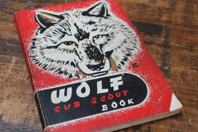 Vintage Cub Scouts Manual Wolf Scout Manual Vintage Cub