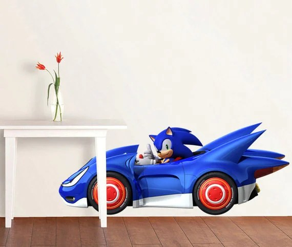Decal Car Hedgehog Shadow