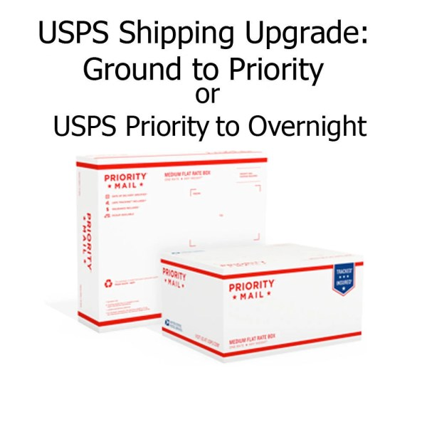 USPS Shipping Upgrade from USPS Ground to USPS Priority or
