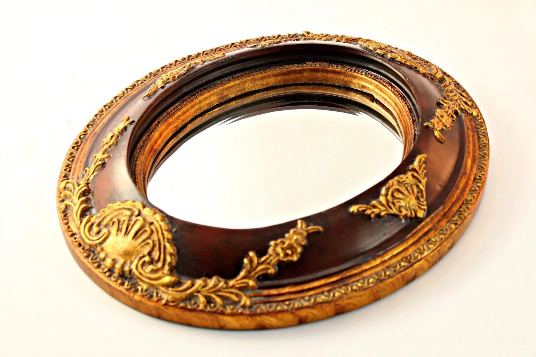 Small Oval Wall Mirror Oval Beveled Mirror Italianate Oval