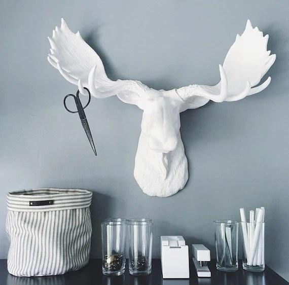 Head Ceramic Moose Mount
