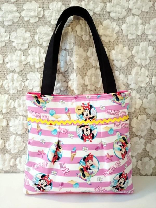 CLEARANCE Disney Minnie Mouse Tote Purse / Yum Yum Summer Fun