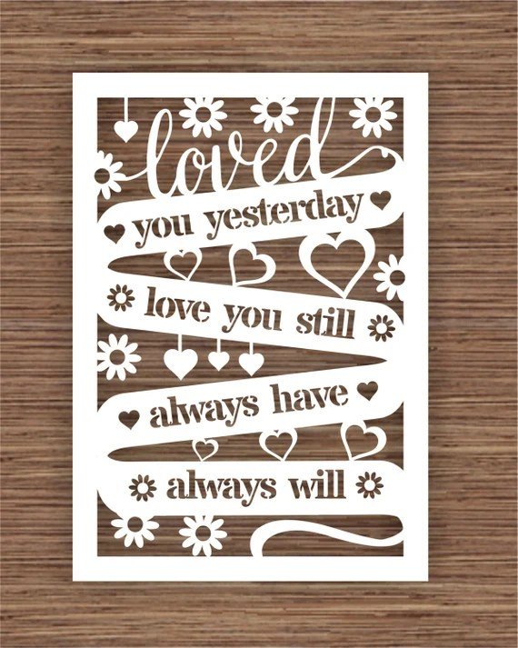 Download Loved You Yesterday Love You Still Always Have Always by ...