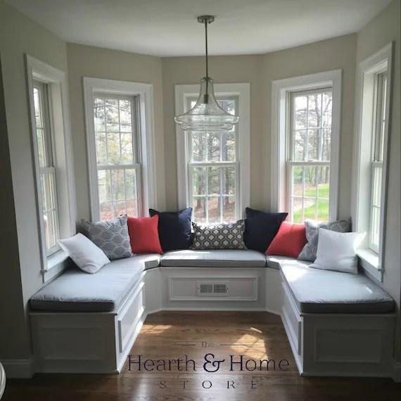Custom Cushion Sewn Banquette Seat Bench Cushion With