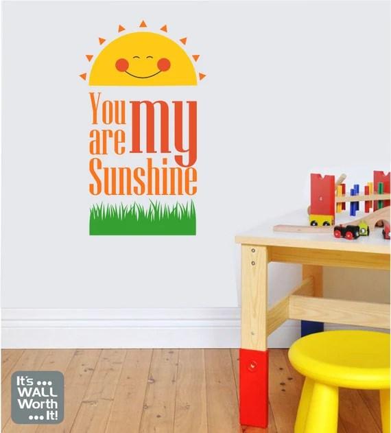 Bright Sunshine Decal by ItsWallWorthIt