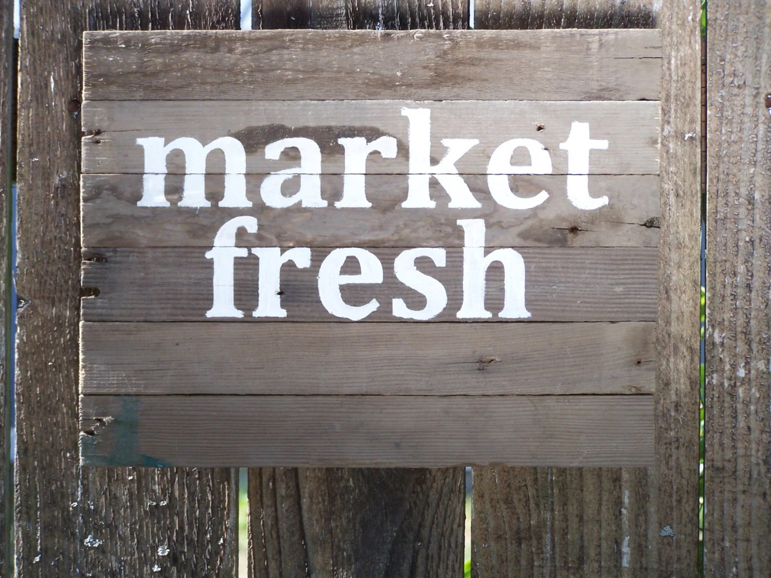 Fresh Market Email Sign