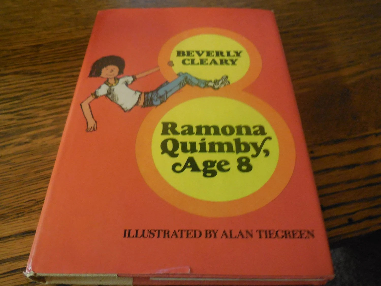 Rare Ramona Quimby By Beverly Cleary Hard Cover Dust