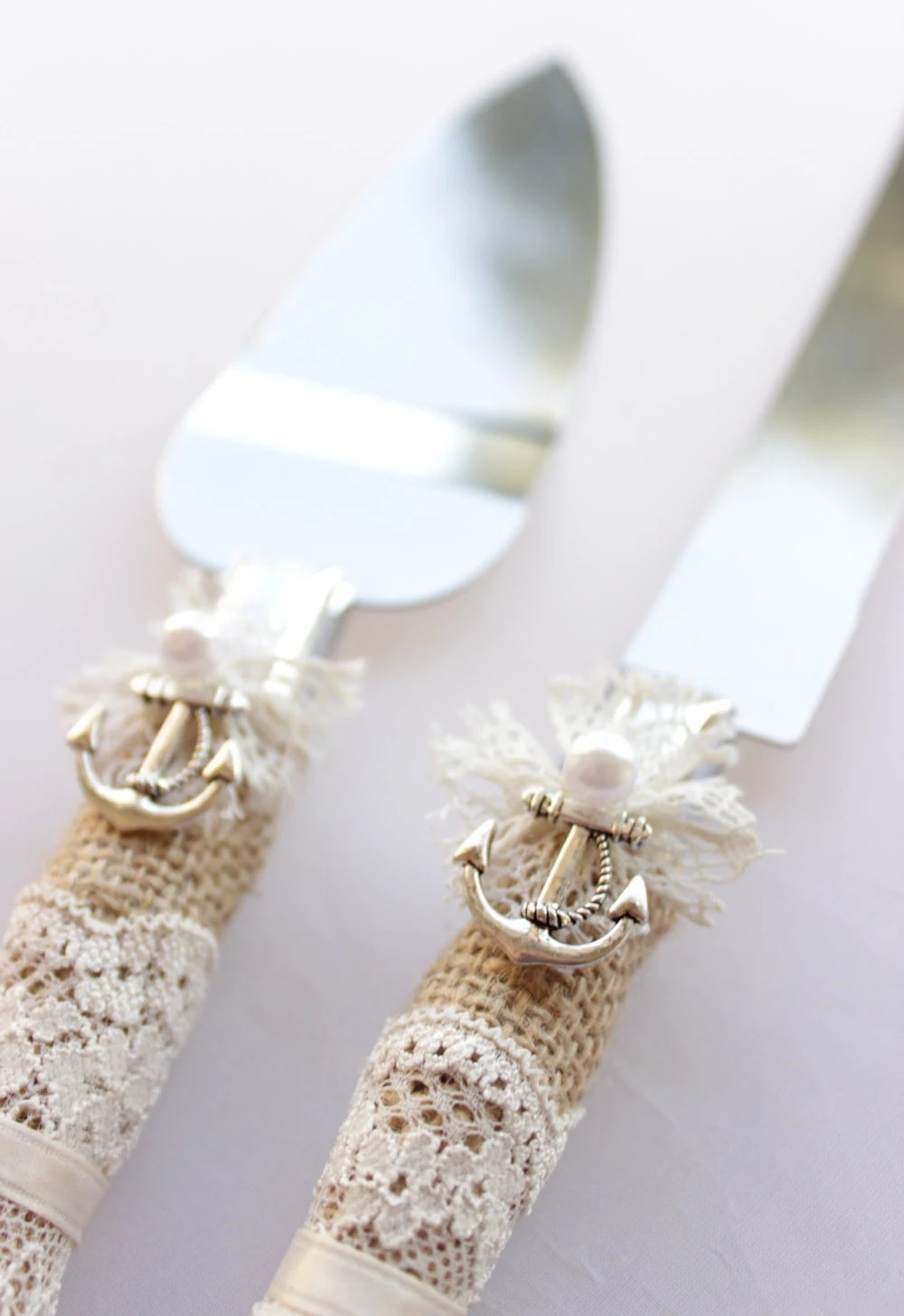 Wedding Knife And Serving Set