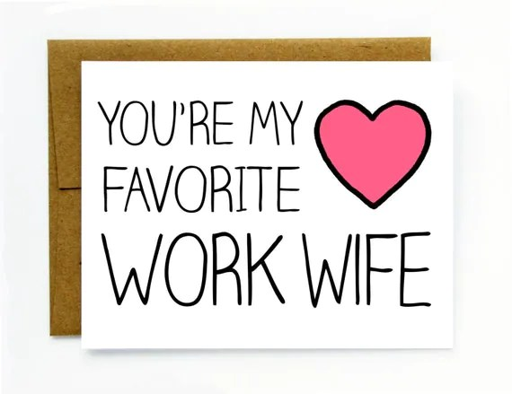 Coworker Gift Card For Co Worker Favorite By