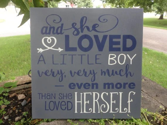 Download Children Sign/And She Loved A Little Boy Very by DAWNSPAINTING