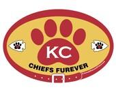 DECAL - KC Chiefs Furever...