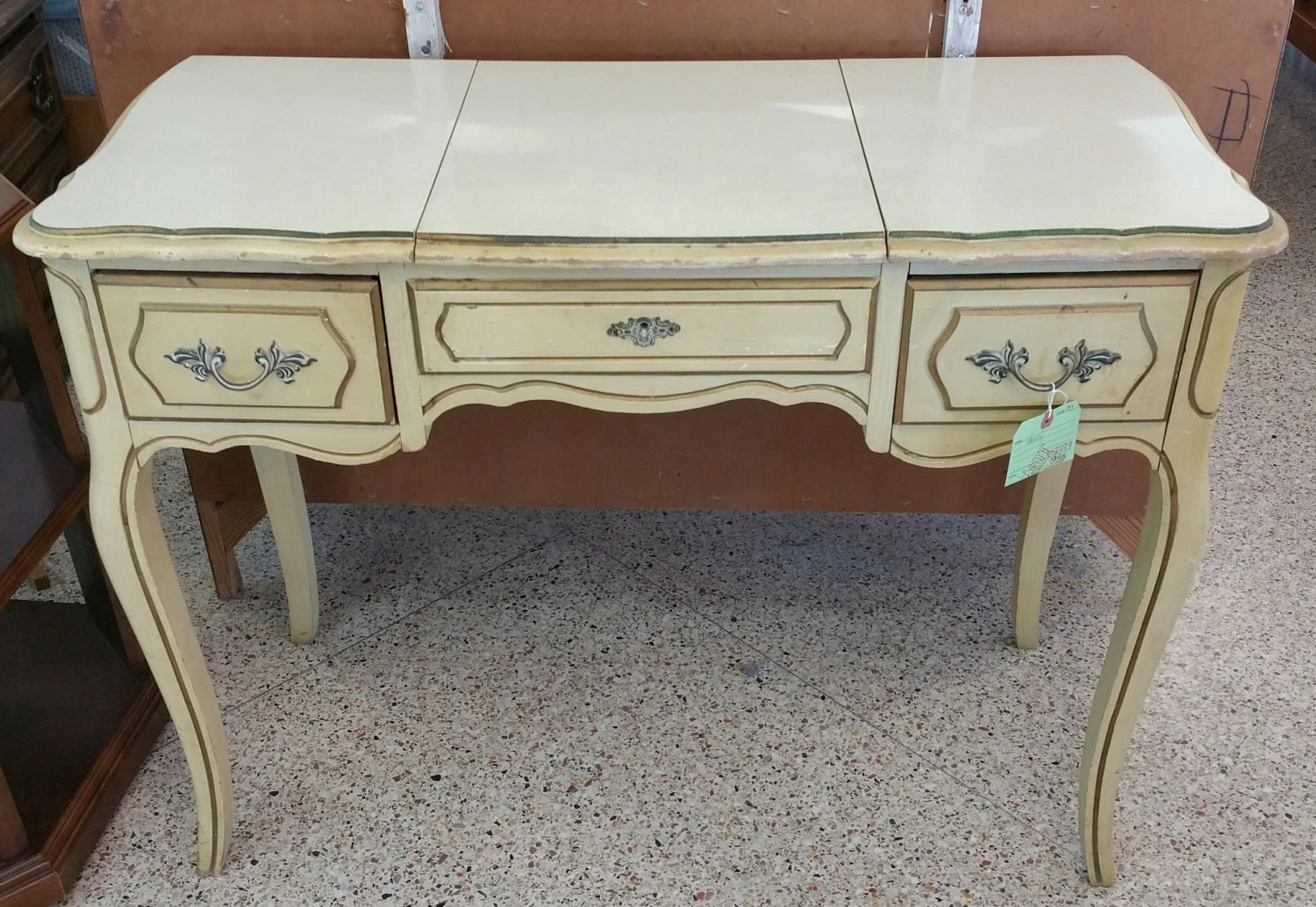 Available To Paint Vintage French Provincial Vanity
