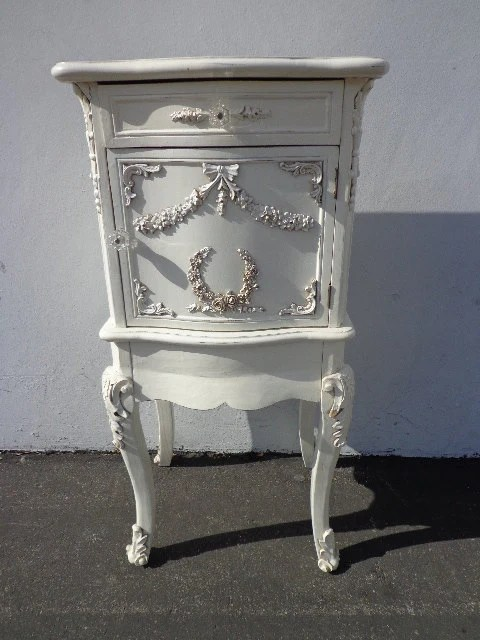 French provincial night stand neoclassical nightstand for French nightstand bedside table
