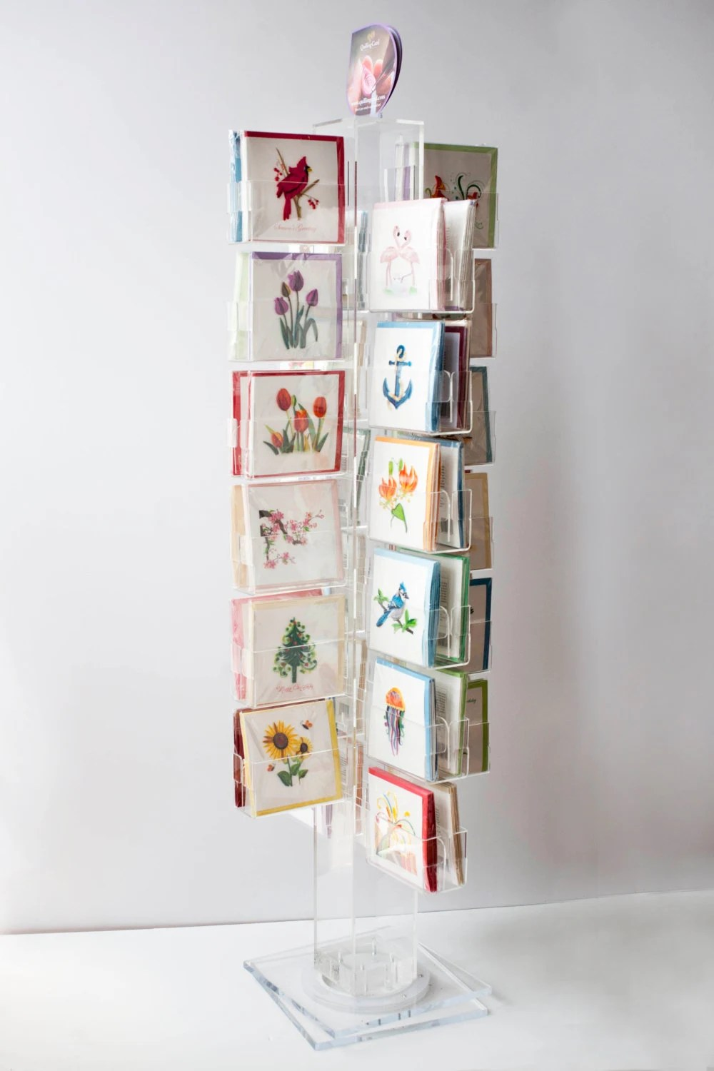 48 Pocket Greeting Card Display