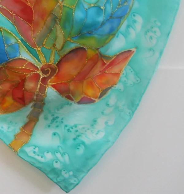 Hand Hawaii Scarves Painted Silk