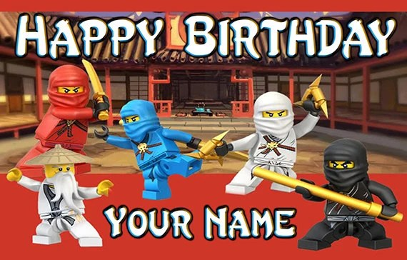 Happy Birthday Cake Fire