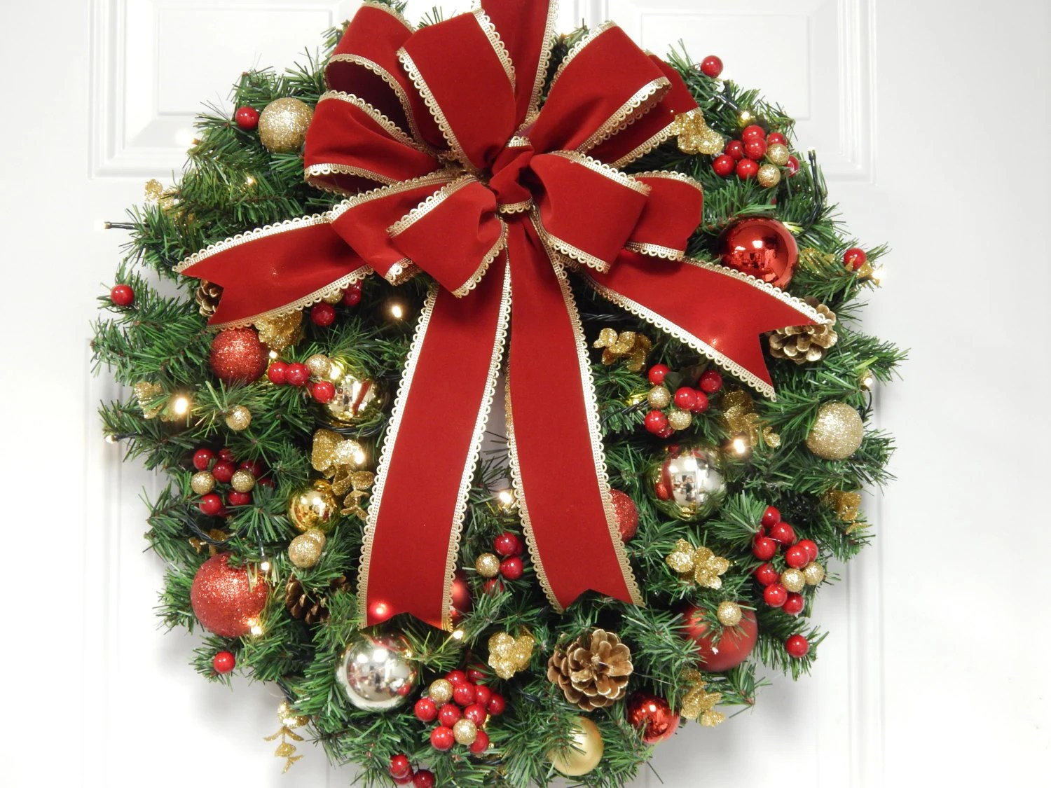36 Inch Artificial Christmas Wreaths
