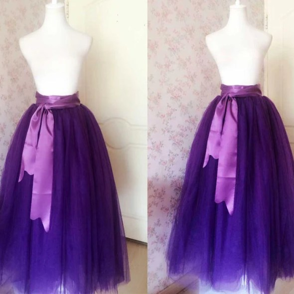 ef54bc6fef3 Romantic Purple Skirt. Wedding Tulle Skirt. Adult Tutus. Skirt to Floor. Plus  Size Tutus. Petticoat. Wedding Party. Bridal Skirt