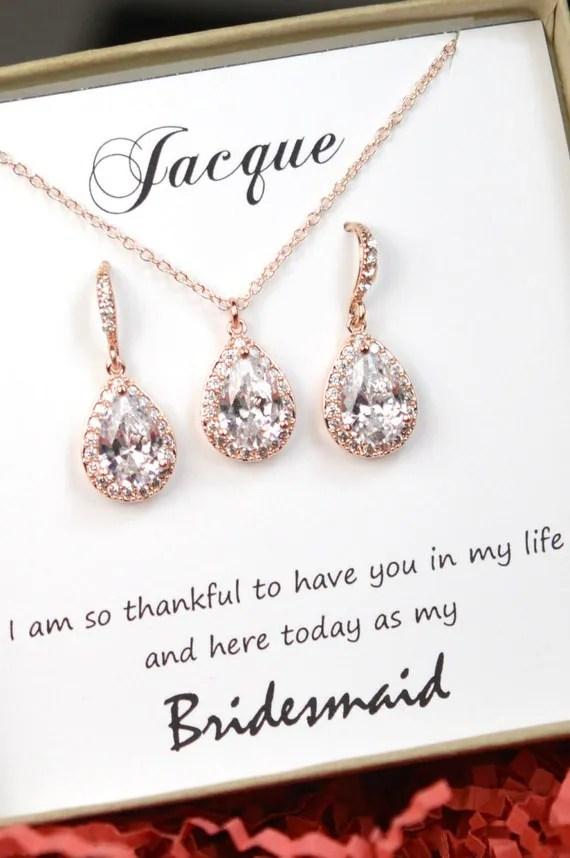 Crystal Bridal Necklace Crystal Wedding Pendant Necklace