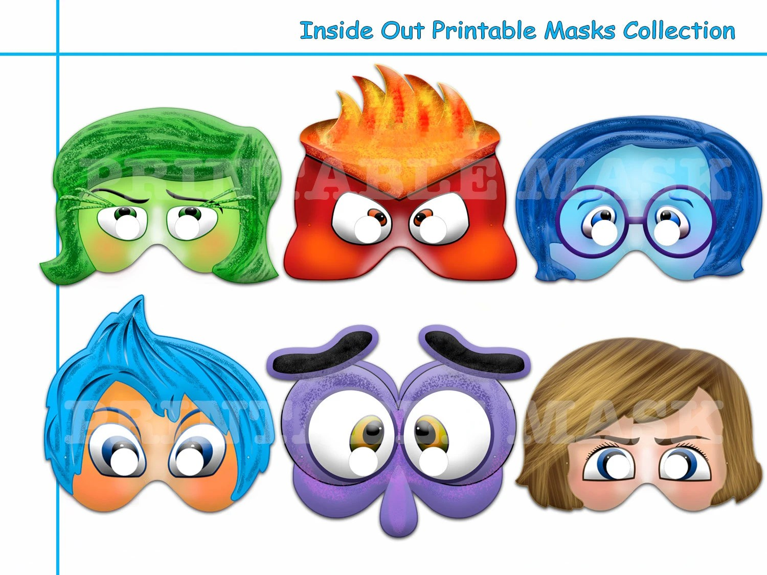 Printable Inside Out Emotions Worksheet | Printable Worksheets and