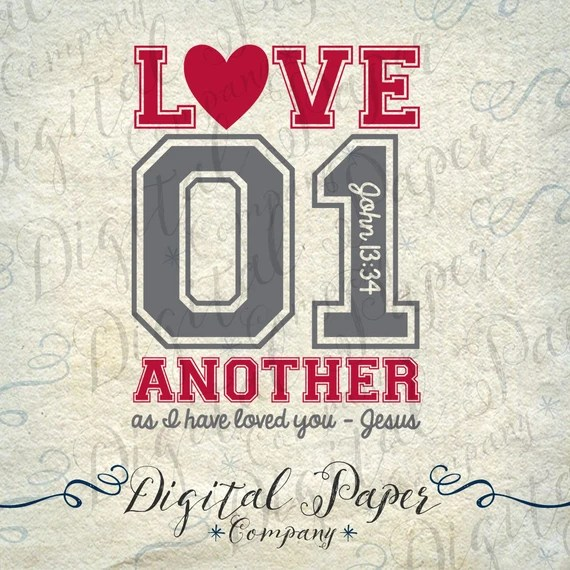Download Love One Another As I Have Loved You Jesus by ...