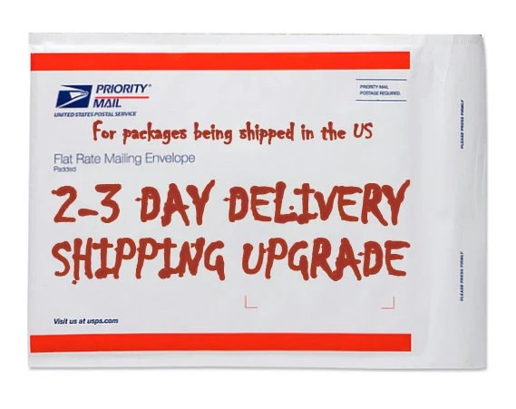 USPS Priority Mail 2 to 3 day shipping upgrade by ...