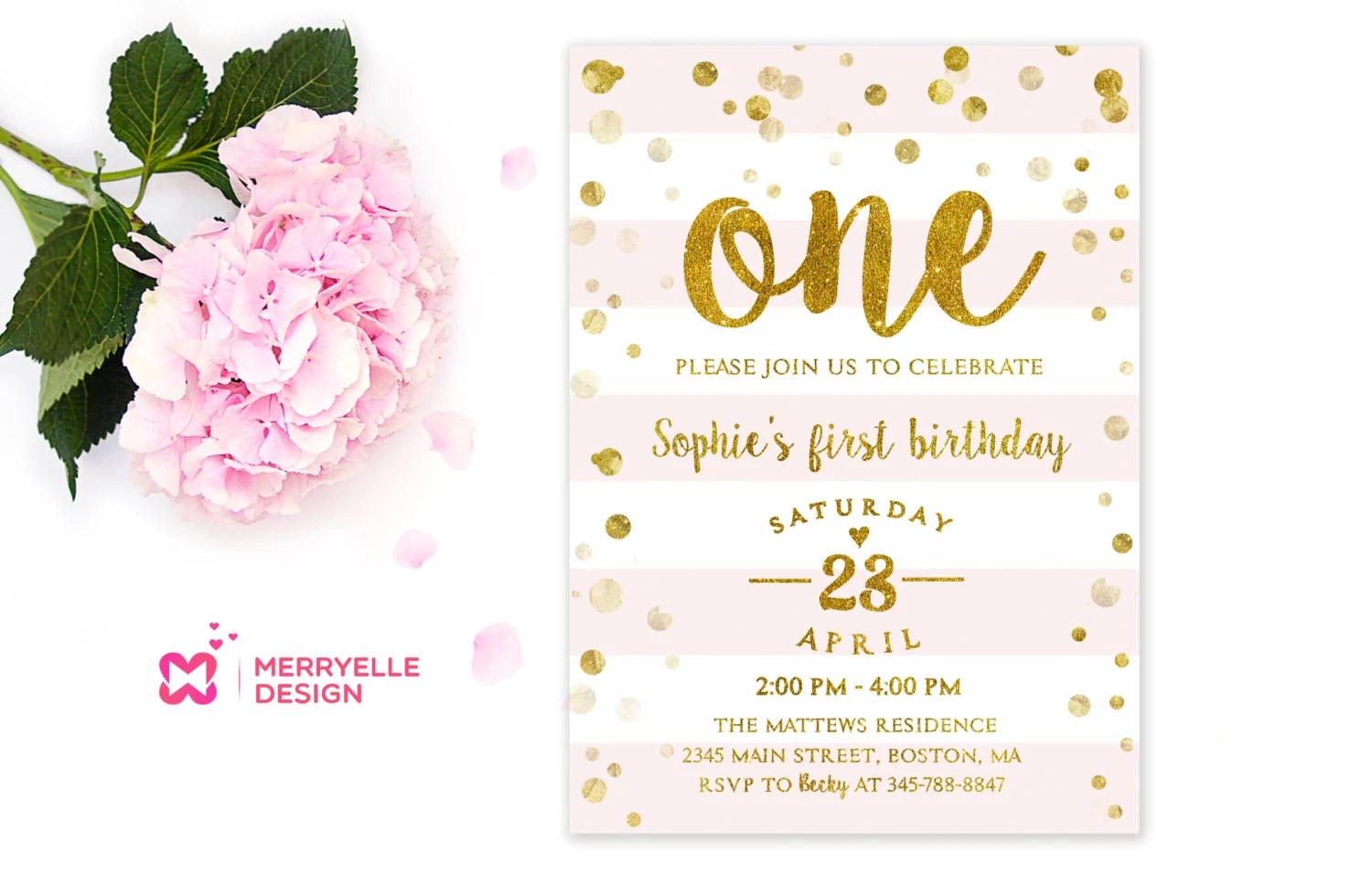 Print Custom 5x7 Invitations