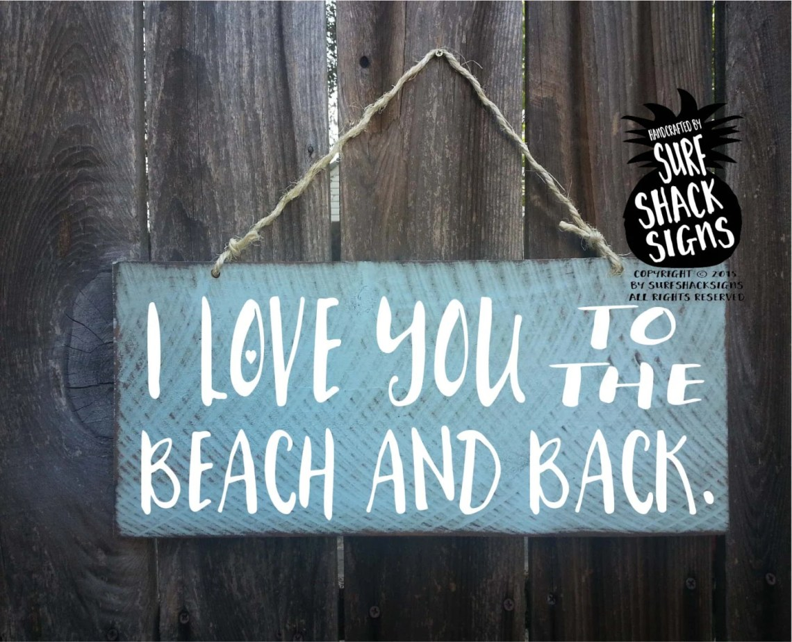 Download i love you to the beach and back beach love sign love you