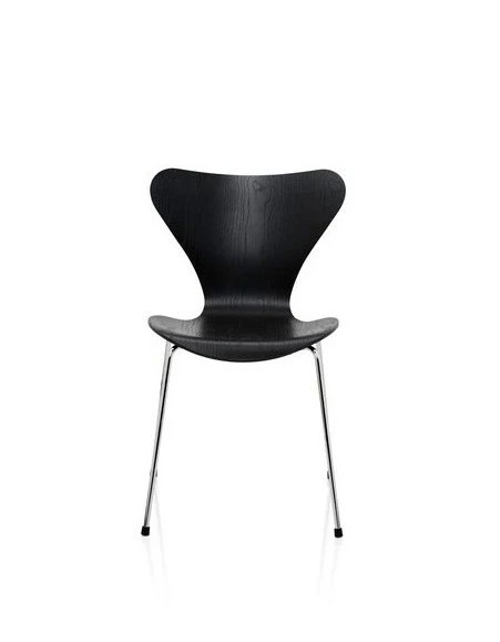 Chaises 3107 arne jacobsen 1955 haute juice for Arne jacobsen chaise fourmi